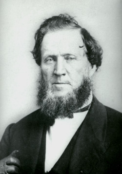 Brigham Young (1801-77), second president of the LDS church, oversaw the colonization of some 250 settlements throughout the American West during the mid-nineteenth century.