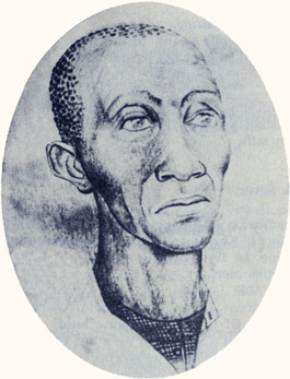 Elijah Abel was the first black elder; a personal friend of Joseph Smith; and builder on the Kirtland, Nauvoo, and Salt Lake temples. Photograph courtesy Harry Phillips