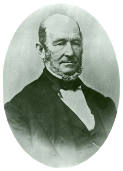 Heber C. Kimball (1801-68)was first counselor to Brigham Young in the LDS first presidency from 1848 until his death.