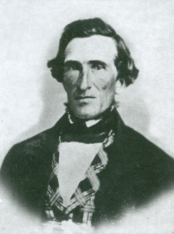 Jedediah M. Grant (1816-56), sustained as second counselor to Brigham Young in 1854, was a fiery orator whose calls to repentance inaugurated the Mormon Reformation.
