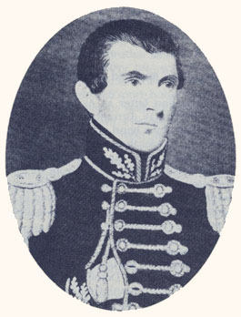 John C. Bennett was a soldier of fortune, physician, member of the First Presidency, and author of An Exposé of Joe Smith. Photograph from The History of the Saints.