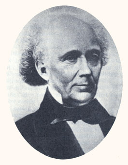 John M. Bernhisel was the copyist for Joseph Smith's Bible revision, a pioneer physician, and a Mormon Congressman. Photograph courtesy Utah State Historical Society.