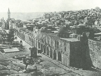 Jerusalem as it probably looked to Orson Hyde