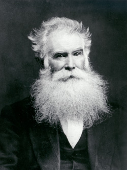 Orson Pratt (1811-81), an LDS apostle, was an intellectual apologist and pamphleteer who publicly disagreed with Brigham Young on doctrinal subjects.