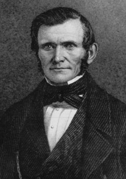 Wilford Woodruff (1807-98), fourth president of the LDS church, kept voluminous diaries chronicling many important events in early Utah history.