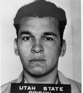 """""""The five marksmen missed the target twice."""" Eliseo Mares executed on 10 September 1951."""