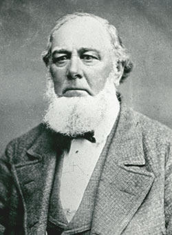 Charles C. Rich (1809-83), an LDS apostle, directed the San Bernardino and gold missions and later helped to settle the Bear Lake Valley region in northern Utah.