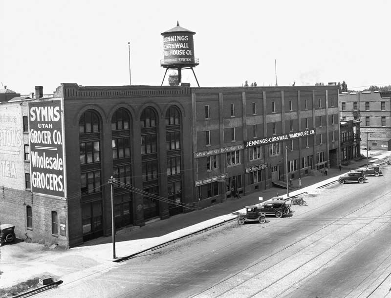 Syms Grocer Bldg and Jennings and Cornwall Warehouse
