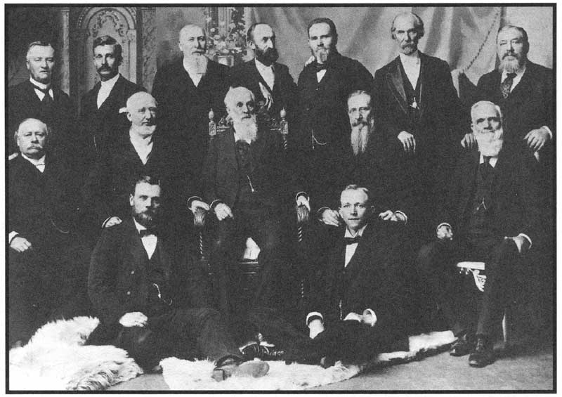 first presidency & council of the twelve