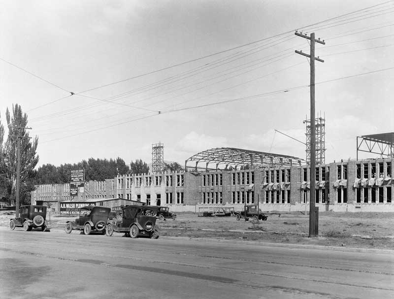 construction of new South High School