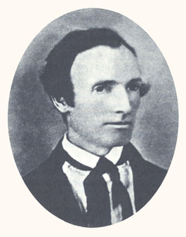 Oliver Cowdery was Joseph Smith's scribe, a Book of Mormon witness, and Associate President of the Church. Photograph courtesy LDS Church Archives.