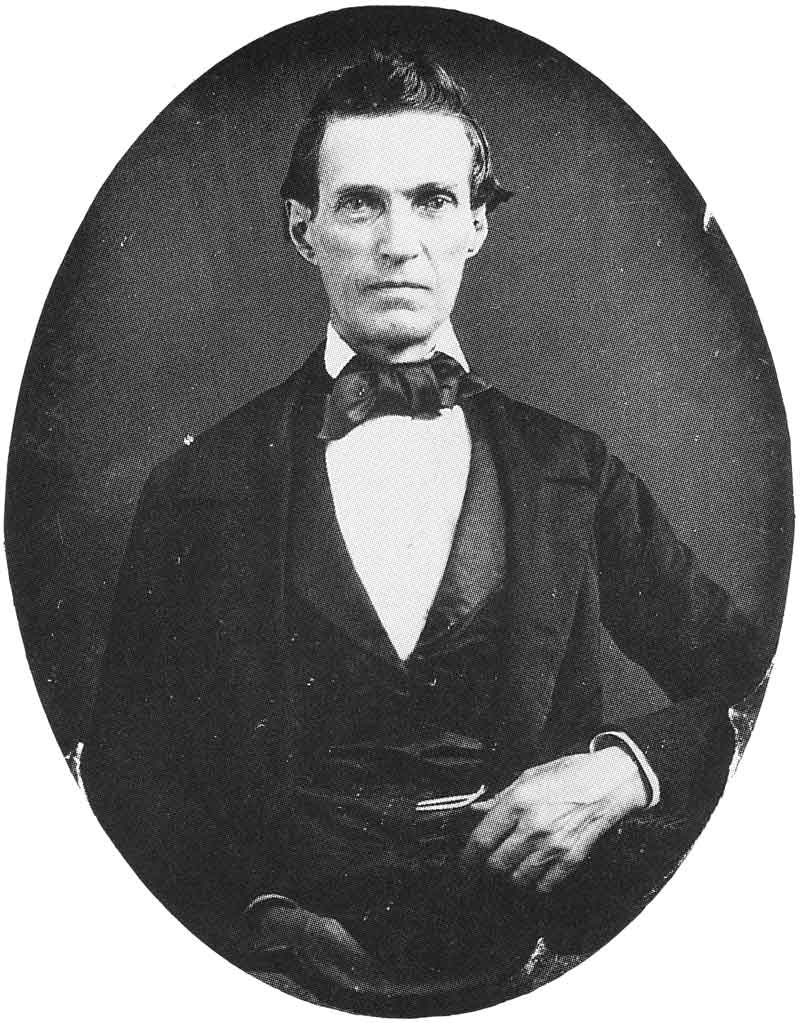 28. Orson Spencer, founder of the University of Utah, taken in the 1850s.