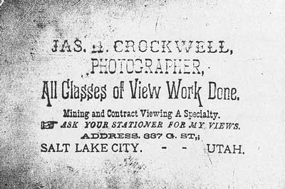 [p.230] 239. On the back of his early prints Crockwell stamped his logo in purple ink.