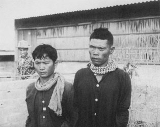 """""""We'd just talked to some prisoners we'd captured. I thought, 'What a waste.''' J. Tom Kallunki, describing the experience of taking these Viet Cong prisoners."""