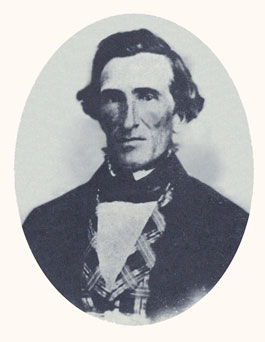 "Jedediah M. Grant was the first mayor of Salt Lake City, Apostle of the ""Mormon Reformation,"" and a member of the First Presidency. Photograph courtesy LDS Church Archives."