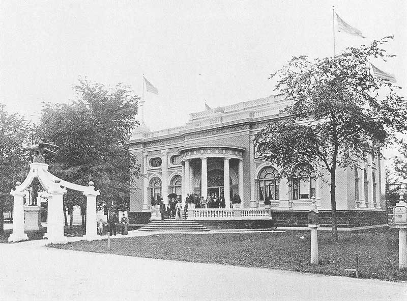 269. The Utah Building at the Chicago Fair featured a replica of the Eagle Gate and a statue of Brigham Young.