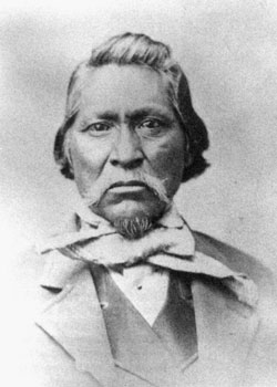 Chief Kanosh was one of several Indian leaders with whom the Mormons interacted during their early years in the Great Basin.
