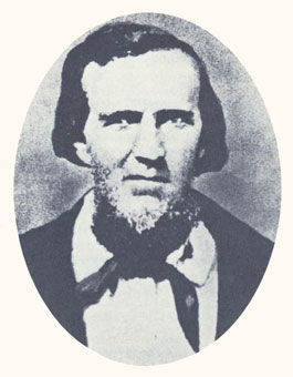 "Jacob Hamblin was a pathfinder and peacemaker and the ""Apostle to the Lamanites."" Photograph courtesy Utah State Historical Society."