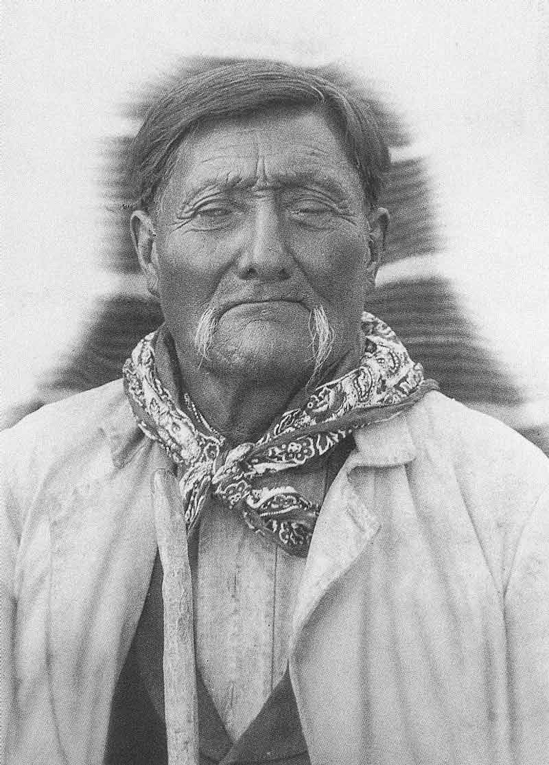 "273. Chief Tobby, who Crockwell called ""the oldest Indian chief in the U.S.,"" at age 105 in Salt Lake City. At that time he had served as chief of his tribe for seventy-three years."