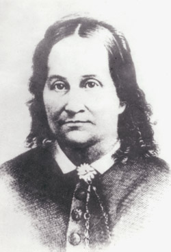 Harriett Decker Young, wife of Lorenzo Dow Young, was one of three women in the original 1847 party of Utah pioneers.