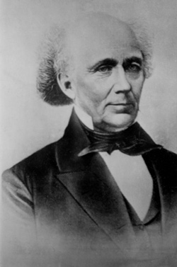 John M. Bernhisel (1799-1881), Utahxs territorial representative to Congress during the 1850s, was a skilled diplomat in defending Mormon rights, especially after the public announcement of plural marriage.