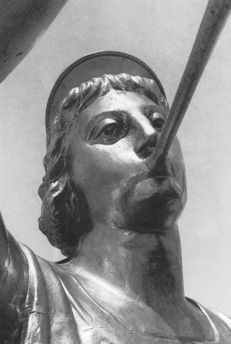 2. Statue of the angel Moroni