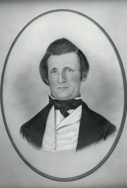 Almon W. Babbitt (1813-56), Utahxs first territorial secretary and treasurer, was killed by Indians while returning from a trip to the nationxs capital.