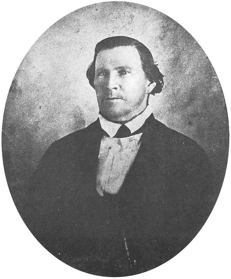 [p.30] 39. Another Marsena Cannon daguerreotype of Brigham Young taken in 1858, in the wake of the so-called Utah War.