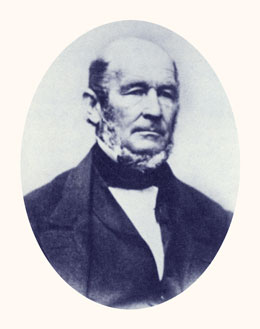 "Heber C. Kimball was a member of the First Presidency and ""Brigham's Prophet."" Photograph courtesy Utah State Historical Society."