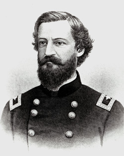 Thomas L. Kane (1822-83), a friend of Brigham Young, helped to negotiate an end to the Utah War.