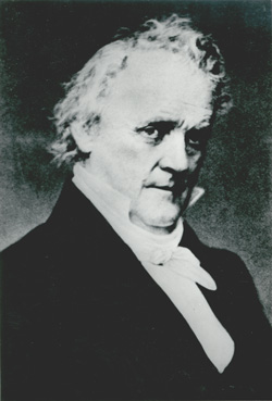 James Buchanan (1791-1868), fifteenth president of the United States, decided to send federal troops under Albert S. Johnston to subdue the xrebelliousx Mormons in 1857-58.