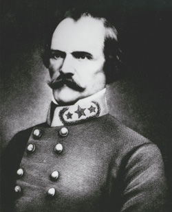 Albert Sidney Johnston (1803-62), commander of the 1857 expedition against the Mormons, remained in Utah until the Civil War, when he joined the Confederate Army.