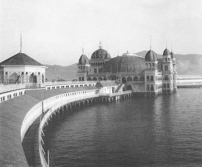 [p.340] 333. Saltair was a popular resort on the Great Salt Lake for more than three decades until it burned to the ground in 1925. This picture was taken by one of the Shiplers' associates, Albert Wilkes.