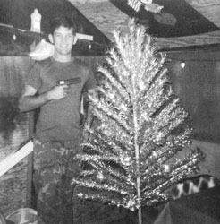 """""""I can remember a Christmas where I just had to go hide because everybody was either stoned or drunk, and if we got overrun, everybody would be killed, so I went and dug a hole and hid the whole night. It was a lonely experience."""" Danny L. Foote"""