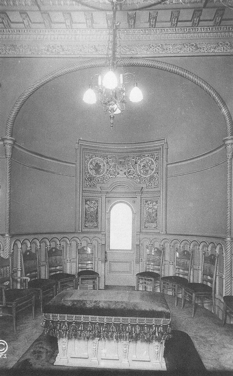 361. Of the three sealing rooms in the temple, this one is for ordinances for the living. Photograph by Ralph Savage for The House of the Lord.