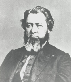 John F. Kinney (1816-1902) served as Utah territorial chief justice from 1854 to 1857 and from 1860 to 1863 when he became Utah's delegate to Congress.