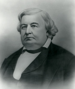 Alfred Cumming (1802-1873) replaced Brigham Young as territorial governor and served from 1857 to 1861.