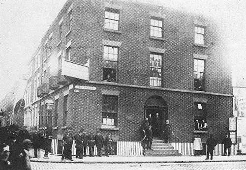 headquarters of the British Mission