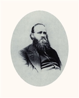 Amasa Lyman was Joseph Smith's special counselor, titular president of the Church of Zion, and a spiritualist. Photograph courtesy LDS Church Archives.
