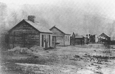 Camp Douglas (later Fort Douglas) housed the California Volunteers fo the U.S. Army during the Civil War.