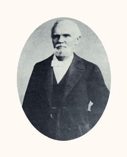 Karl G. Maeser was the father of Brigham Young University. Photograph courtesy Daughters of the Utah Pioneers.
