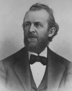 William S. Godbe (1833-1902), a successful Salt Lake City businessman, protested Brigham Young's temporal policies, was excommunicated in 1867, and later organized the Church of Zion.