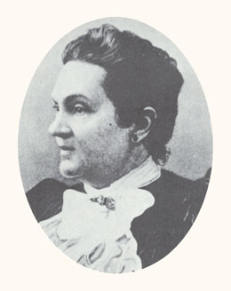 Romania Pratt Penrose was a pioneer, physician, and women's advocate. Photograph courtesy LDS Church Archives.