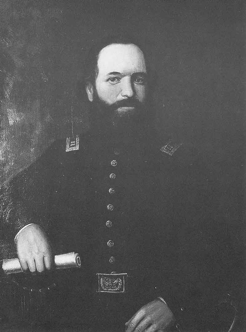 57. A painting of Edward Martin in his Nauvoo Legion uniform hangs in the Daughters of the Utah Pioneers Museum in Salt Lake City. It was painted by pioneer artist Danquart Weggeland sometime in the early 1860s.
