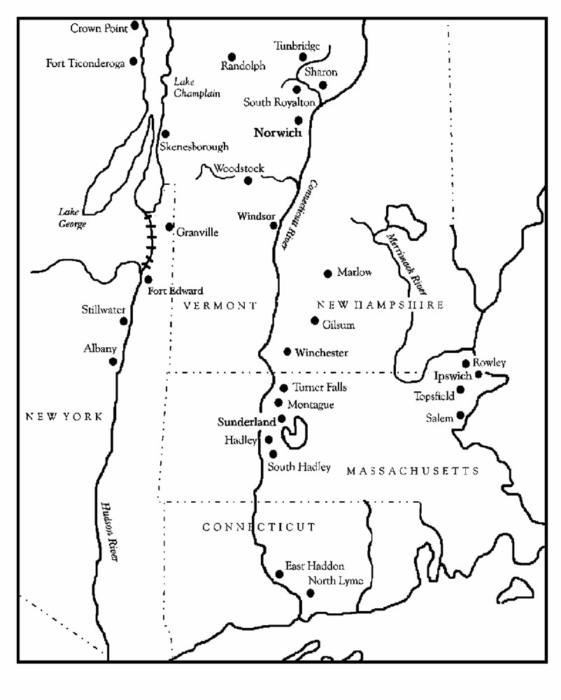 [p. 274] Map 1. The Smith Family in Vermont