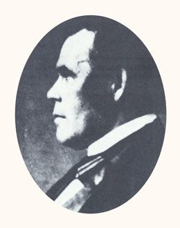 "Parley P. Pratt was an apostle and ""martyr."" Photograph courtesy LDS Church Archives."