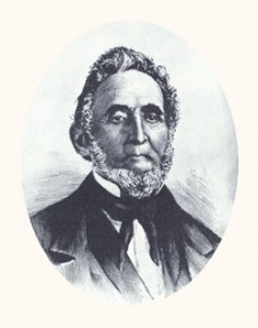 "Sidney Rigdon was a Baptist and Campbellite minister, the prophet's spokesman, and founder of ""The Children of Zion."" Photograph courtesy LDS Church Archives."