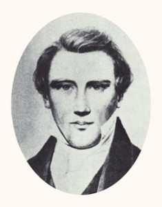 Joseph Smith was the prophet and first president of the Church and a martyr. Photograph courtesy Utah State Historical Society.