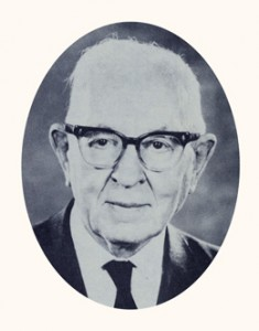 Joseph Fielding Smith was a scriptorian, historian, and tenth president of the Church. Photograph courtesy LDS Church Archives.
