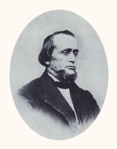 "Erastus Snow was an apostle and colonizer, often called ""the late Erastus Snow."" —Photograph courtesy LDS Church Archives."